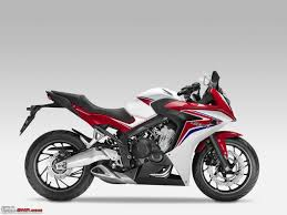 honda cbr series price honda cbr 650f launched in india at rs 7 3 lakh team bhp