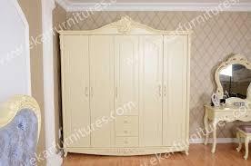 Wood Armoire Wardrobe Bad Room Furniture Design Antique Solid Wood Armoire Wardrobe 606