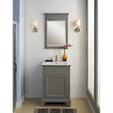 endearing mid century bathroom with antique brass bathroom vanity