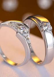 cheap sterling silver engagement rings cheap matching promise rings with cz matching promise