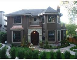 french chateau style modern vancouver houses