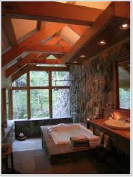 rustic bathroom designs bathroom small bathroom with rustic wall selves and small brown