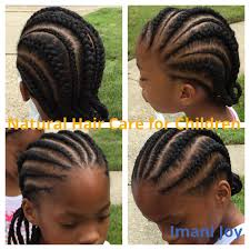 hairstlye of straight back straight back cornrows children s natural hair ideas of kid