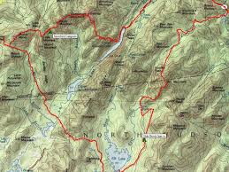 Mohican State Park Map by How To Finish Your Adirondack 46 With A Trail Backpacking Loop