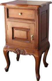 end table with locking drawer french elegance bedside with a single drawer and useful low shelf