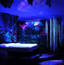 glow in the dark bedroom glowing murals by bogi fabian11 880 future home pinterest