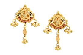 bengali earrings bengali gold necklace set bshr 0187 jewellery