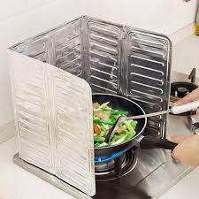cuisine pratique et facile pratique éclaboussures écrans cuisine poêle feuille plaque empêcher