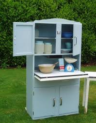 vintage retro industrial shabby chic kitchen cupboard larder unit