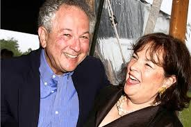 ina garten and jeffrey barefoot contessa in black suede loafers wsj