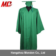 cheap cap and gown cost efficient matte graduation cap gown set