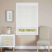 Levolor Cordless Blinds Cordless Faux Wood Blinds Blinds The Home Depot