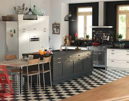 cuisine blanche et noir beautiful cuisine kadral bois contemporary joshkrajcik us