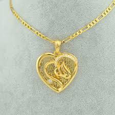 girl gold necklace images Buy heart allah necklace pendants women girl jpg