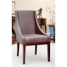 safavieh mercer brown bicast leather arm chair mcr4500c home
