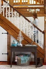 Garland Hangers For Banister Snowflake Christmas Decoration Ideas Christmas Celebrations