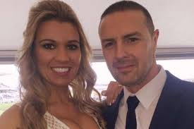 does paddy mcguiness use hair products paddy mcguinness pictured hugging tearful wife christine as they