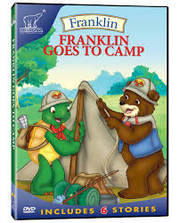 franklin goes to camp kids summer dvds pinterest