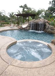 Swimming Pool Backyard Designs by 96 Best Tub And Spa Designs Images On Pinterest Spa Design