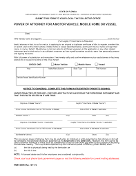 Power Of Attorney For Legal Matters by Free Florida Motor Vehicle Power Of Attorney Form Pdf Eforms