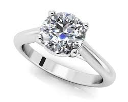 diamond rings customize and buy solitaire diamond engagement rings
