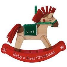 2017 baby s hallmark keepsake ornament hooked on