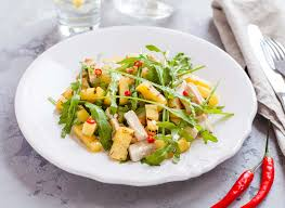 grilled pineapple and chicken salad recipe by archana u0027s kitchen