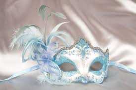 masquerade masks for prom this could be a something blue http www justposhmasks