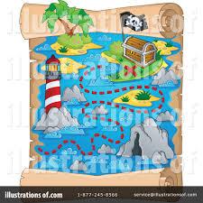 treasure map clipart treasure map clipart 1174163 illustration by visekart