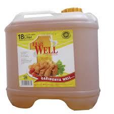 Minyak Frais Well minyak goreng fraiswell 18l jerigen cv bagus