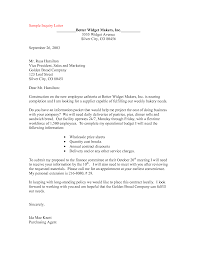 best photos of inquiry memo sample sample inquiry letter