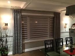 high lite zebra banded and ambio shades savalan window decor