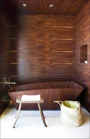 wooden bathtub bathroom lavish bathroom decorations with wooden theme apply