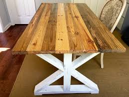 how to stain pine table how to finish your reclaimed table with stain paint