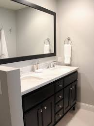 bathroom bathroom sink cabinets corner makeup vanity table