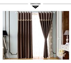 Thermal Window Drapes Blackout Curtain Fabrics Bedroom Linen Ready Made Window Curtains