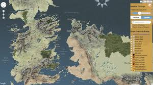 Map Westeros The Confused Fan U0027s Guide To Westeros Essos And All Other Weird