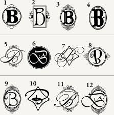 monogram letter b 11 best b s images on lettering lyrics and typography