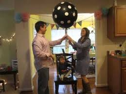 gender reveal balloons gender reveal party balloon pop