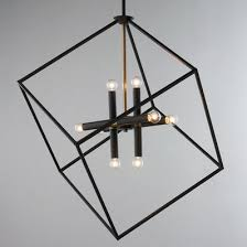 Black Metal Chandelier Modern Contemporary Chandeliers Shades Of Light