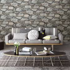 brewster grey stone wall historic wallpaper 2701 22304 the home