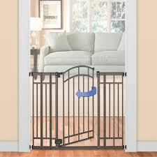 Child Gate Stairs by Summer Infant Deco Bronze Extra Tall Walk Thru Gate Walmart Canada