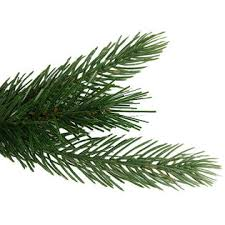vco pack of 2 spruce artificial trees 2 unlit