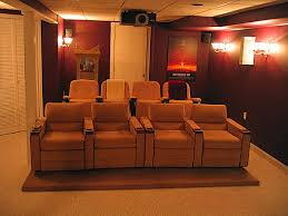 home theater decor ideas basement home theater design finished basement design photo home