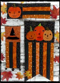 a vintage halloween mini quilts pattern 364 shirley hudson designs