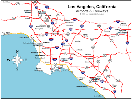 map of downtown los angeles los angeles freeway map nowrez city guide