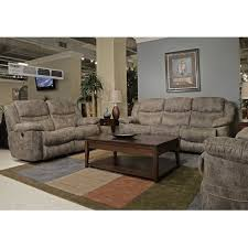 3 piece recliner sofa set catnapper valiant 3 piece reclining sofa set in marble 1401 14022