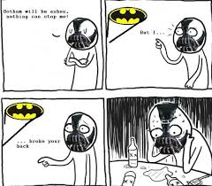 Foto Meme Comic - over confidental depressed bane meme rage comic