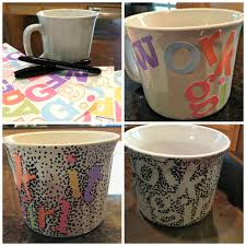 mugs design decorated coffee mugs modern rooms colorful design amazing simple
