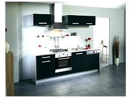 meuble de cuisine laqué cuisine laque noir cuisine laque noir meuble cuisine laque noir